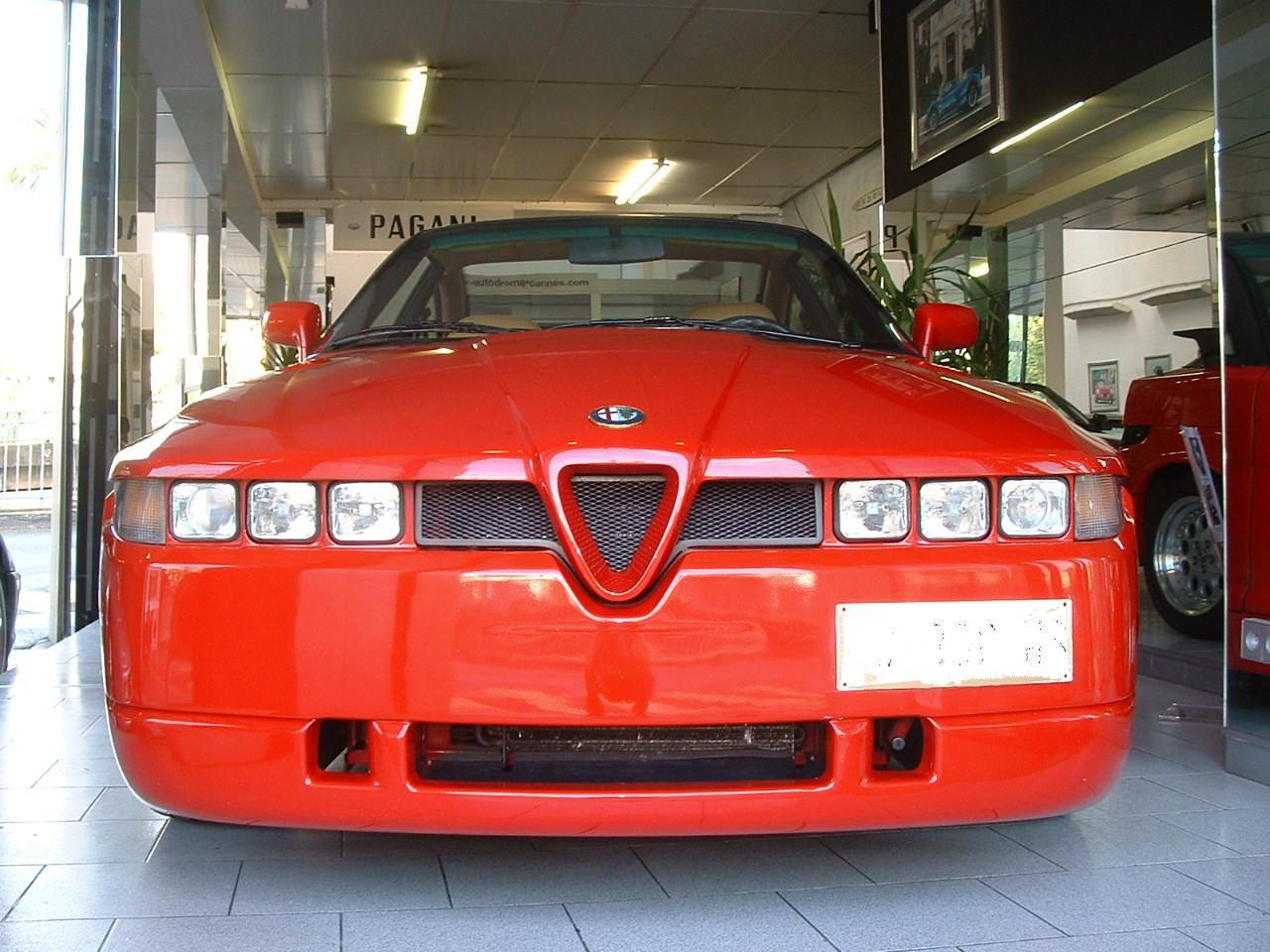 ALFA-ROMEO Giulietta SZ 92 one