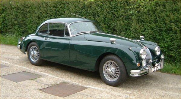 La suite ... Jaguar_xk150_green