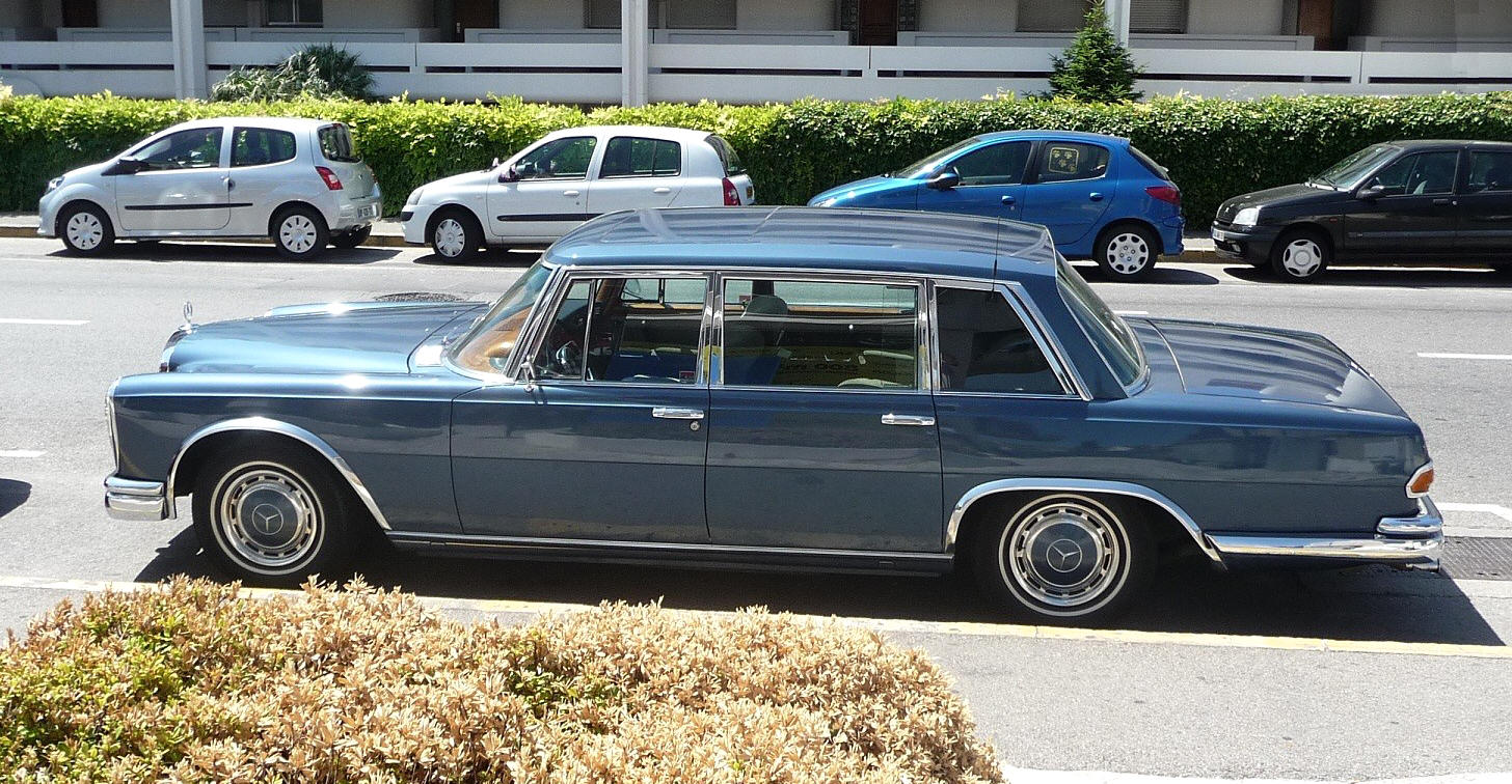 1960 mercedes 600