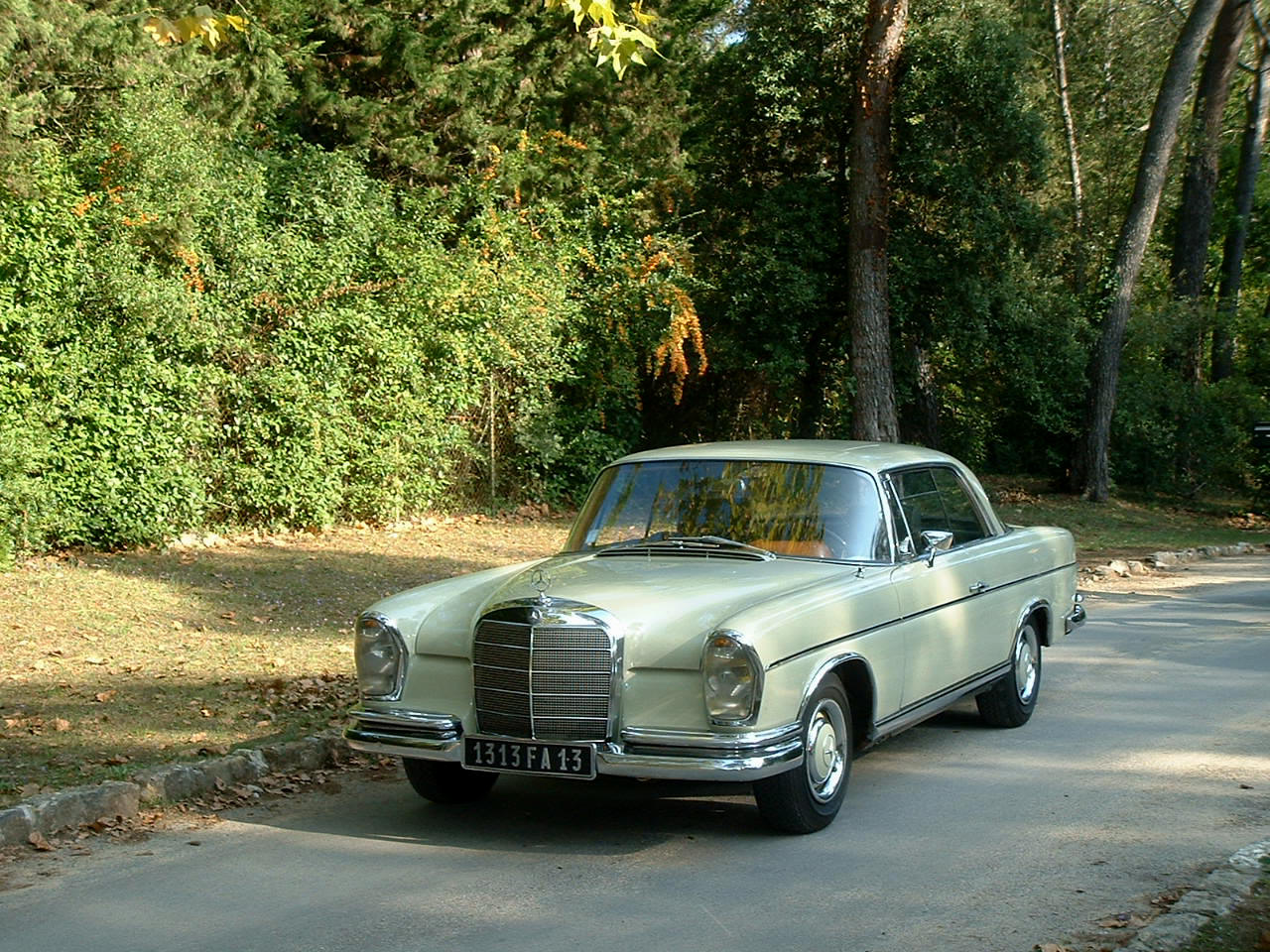 mercedes 250 coupe