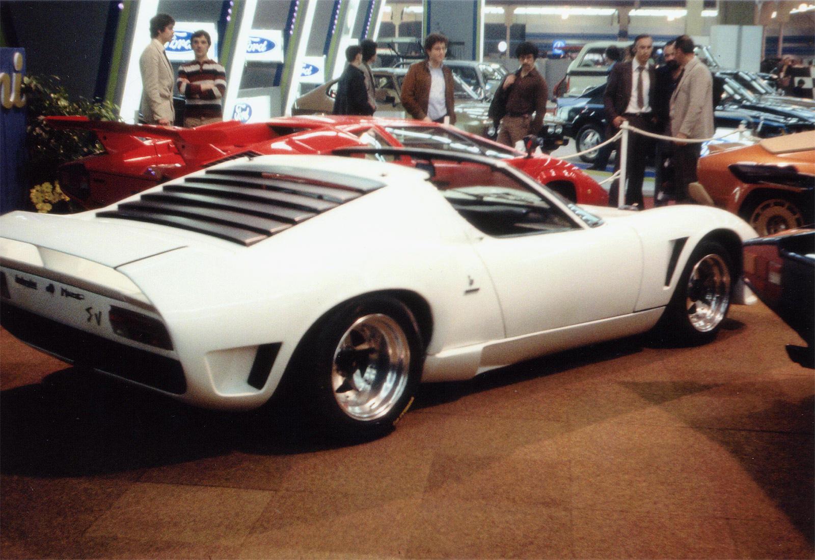 Lamborghini Miura Spider Chez Autodrome Cannes Importateur Pagani